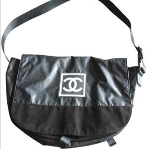 SOLD!!!!Chanel unisex Messenger Sport Line Bag